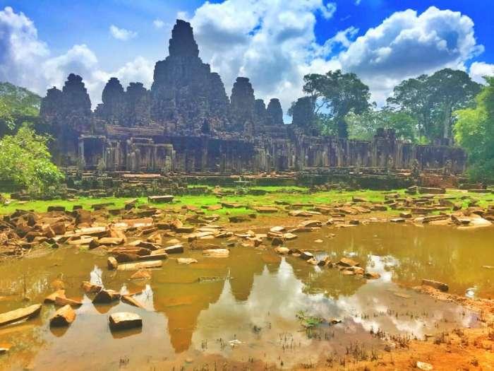 Der Tempel Angkor Thom