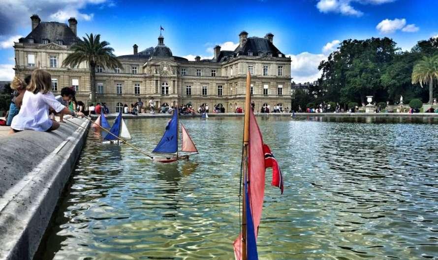 Jardin und Palais du Luxembourg in Paris