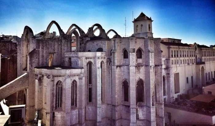Die Überreste des Klosters