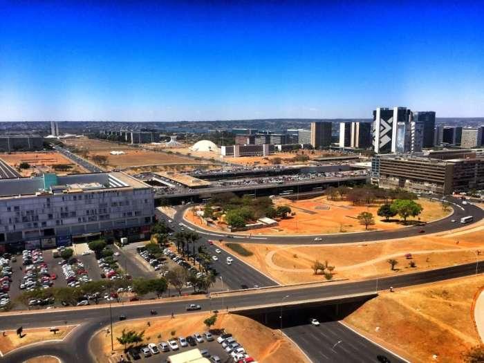 Brasilia von oben