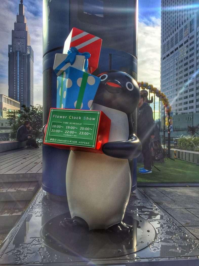 Der Pinguin bringt die Geschenke