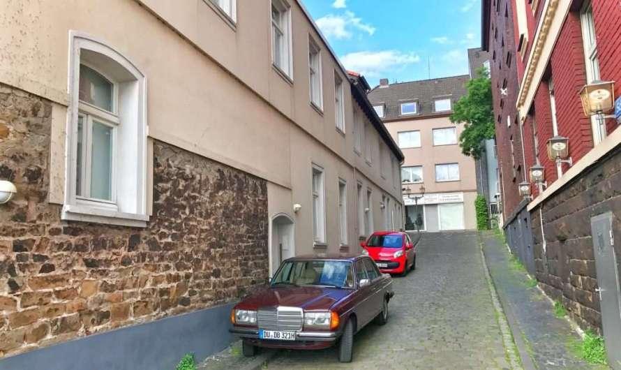 Horst-Schimanski-Gasse in Duisburg