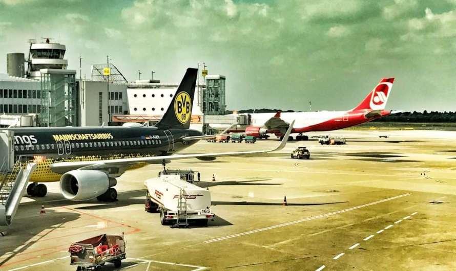 Sonderlackierte Flugzeuge: BVB, Stars Wars, Donald Duck & Co