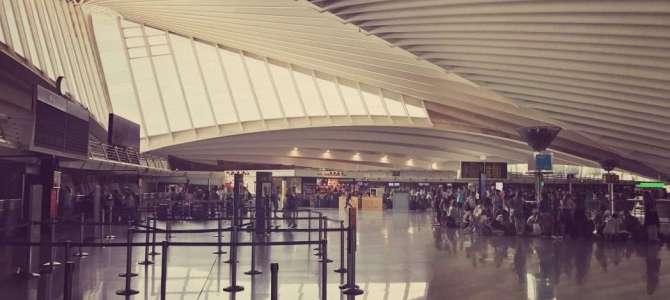 Vom Flughafen nach Bilbao