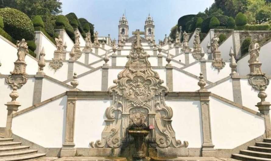 Die Wallfahrtskirche Bom Jesus in Braga
