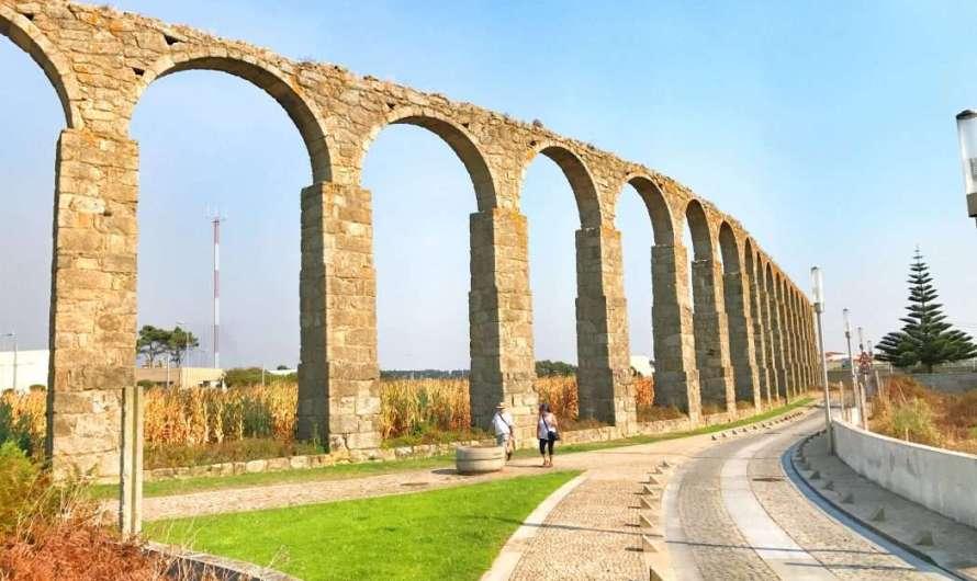 Das Aquädukt und Vila do Conde