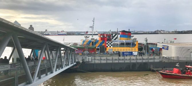 Ferry cross the Mersey – Schiffstour in Liverpool