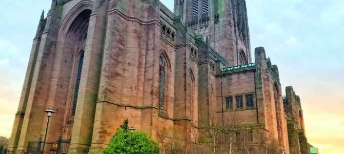 Die gigantische Kathedrale in Liverpool
