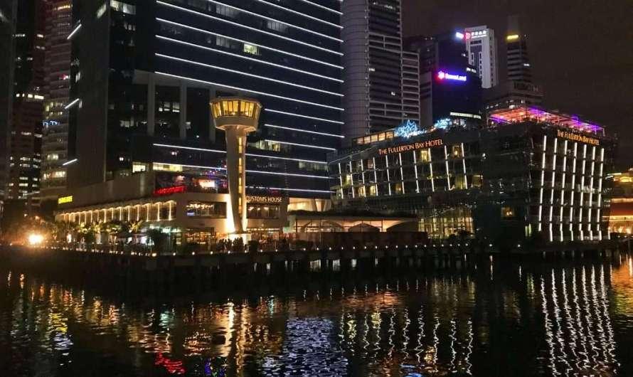 Nachtleben in Singapur