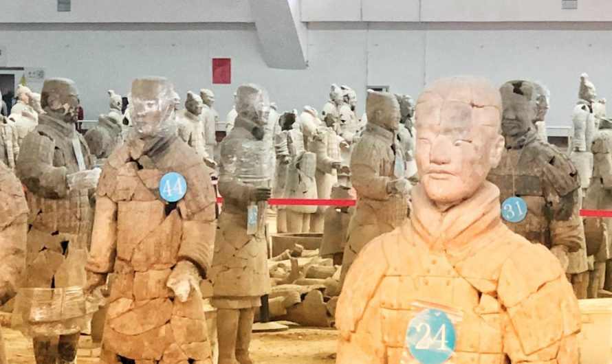 Die Terrakotta-Armee in Xi'an
