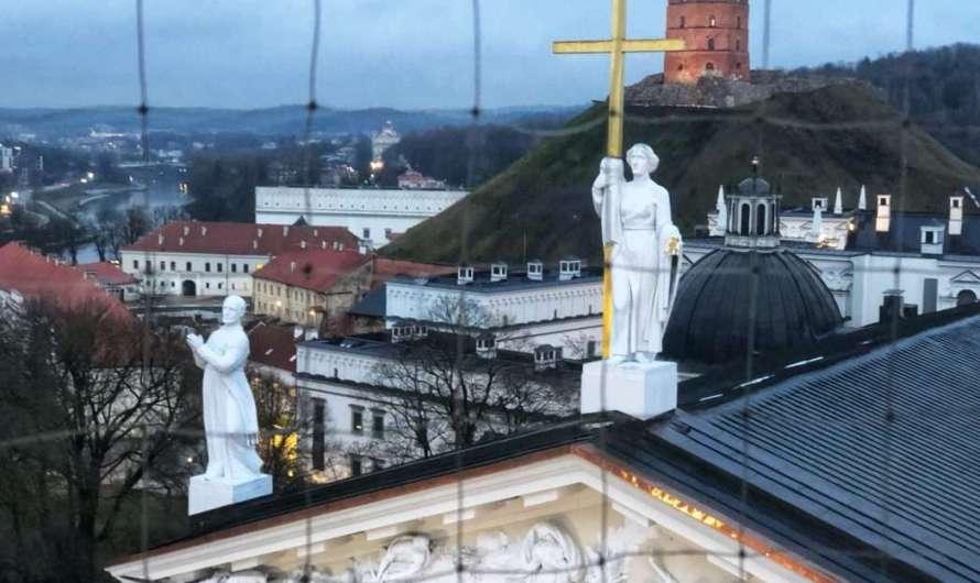 Die Burg in Vilnius
