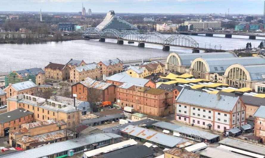 Riga von oben