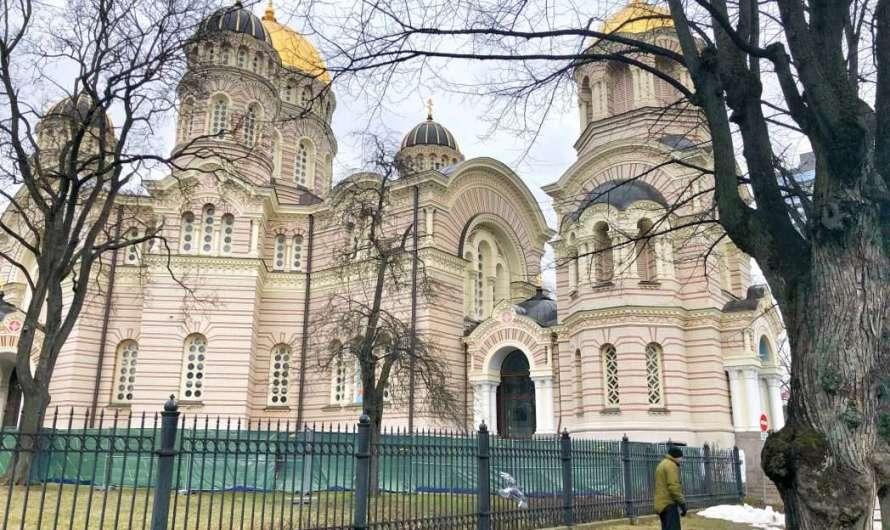 Die russisch-orthodoxen Kirchen in Riga