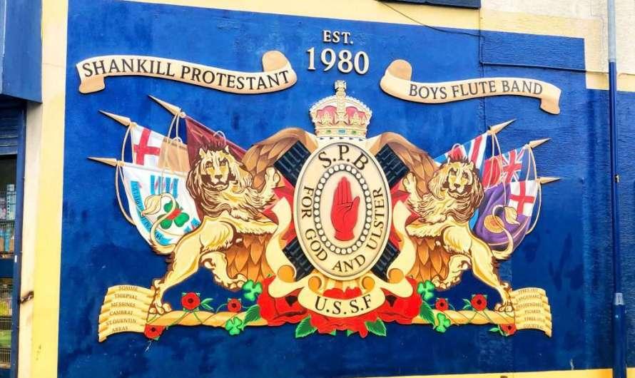 Murals – die Wandgemälde in Belfast