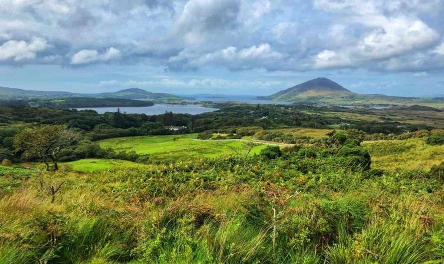 Wandern im Connemara Nationalpark