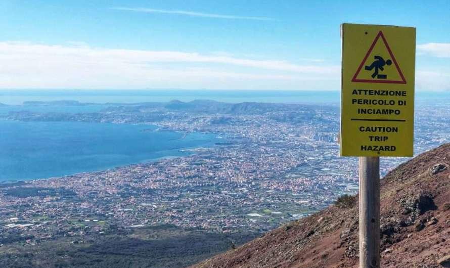 Von Neapel zum Vesuv und nach Pompeji