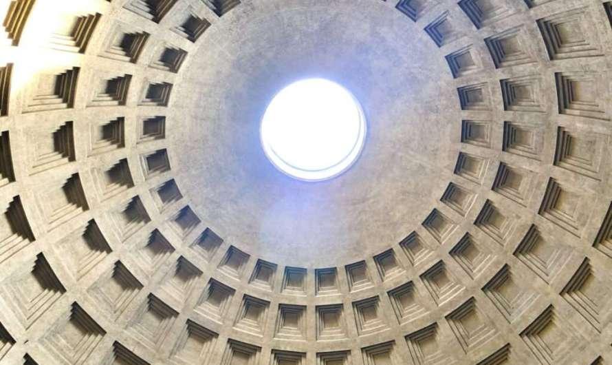 Das Pantheon und die gigantische Kuppel