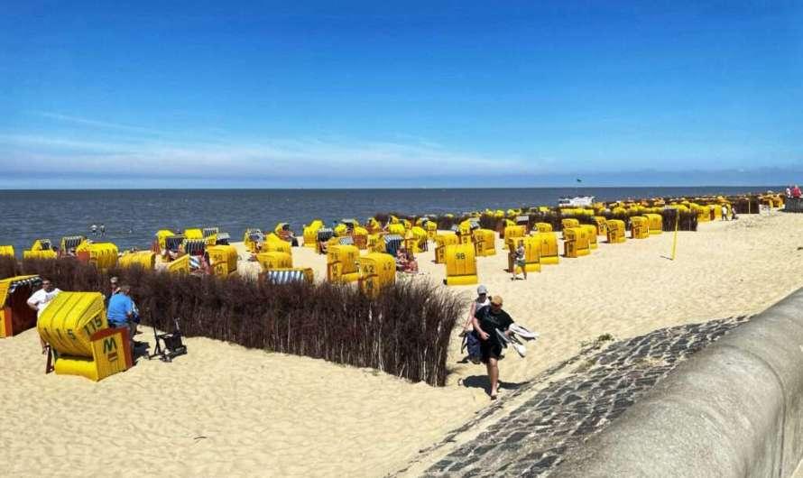 Duhnen – der Strand von Cuxhaven