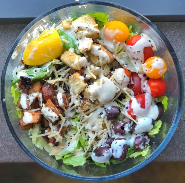 Healthy Caesar Dressing Colorful Foodie