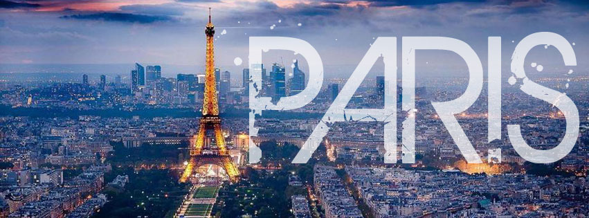 Colorfully Free Facebook Covers Welcome To Paris