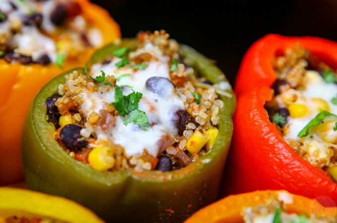 Cook Once Eat Twice Stuffed Peppers And Tacos