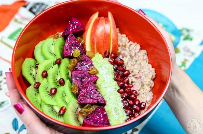 Exotic Fruit Oatmeal Bowl
