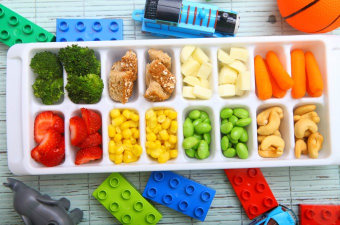 Toddler Approved Ice Cube Tray Colorful Buffet