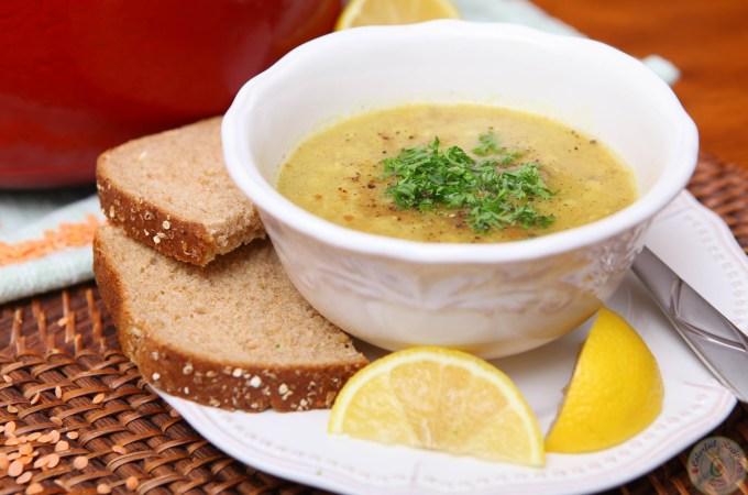 Shorbet Adas Mediterranean Red Lentil Soup