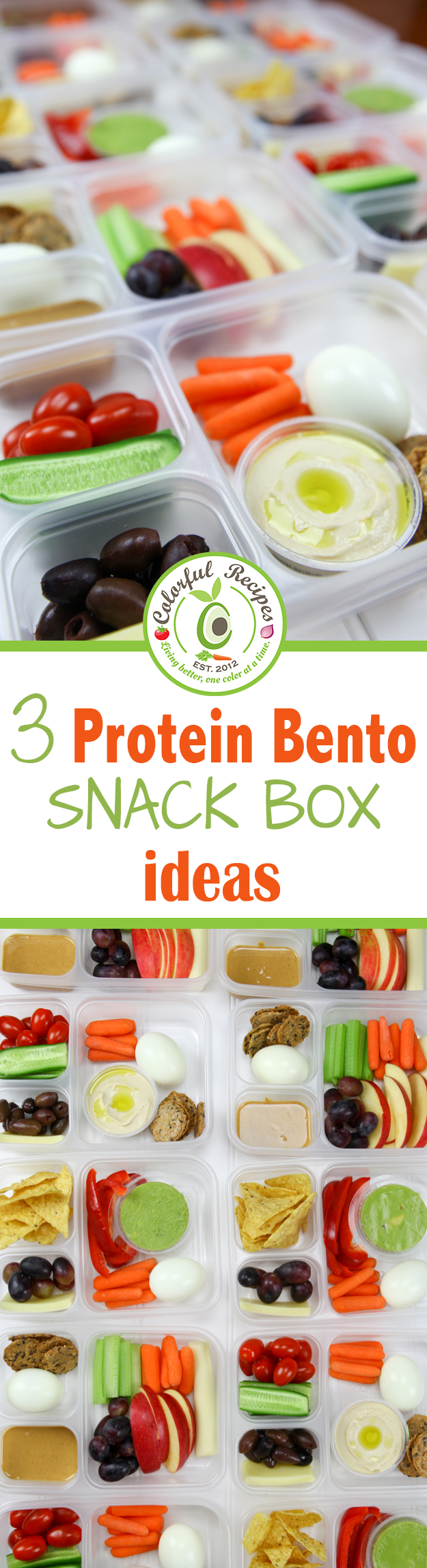 3 Protein Bento Snack Box Ideas