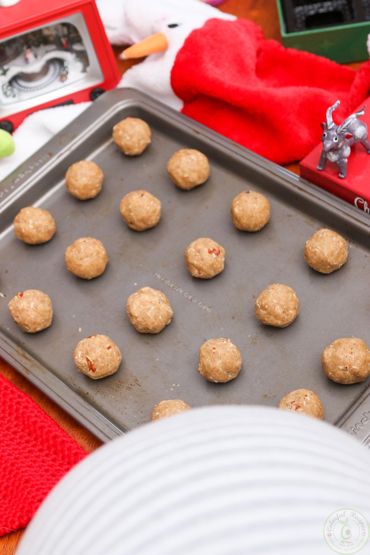 Gluten Free Coconut Pecan Cookies