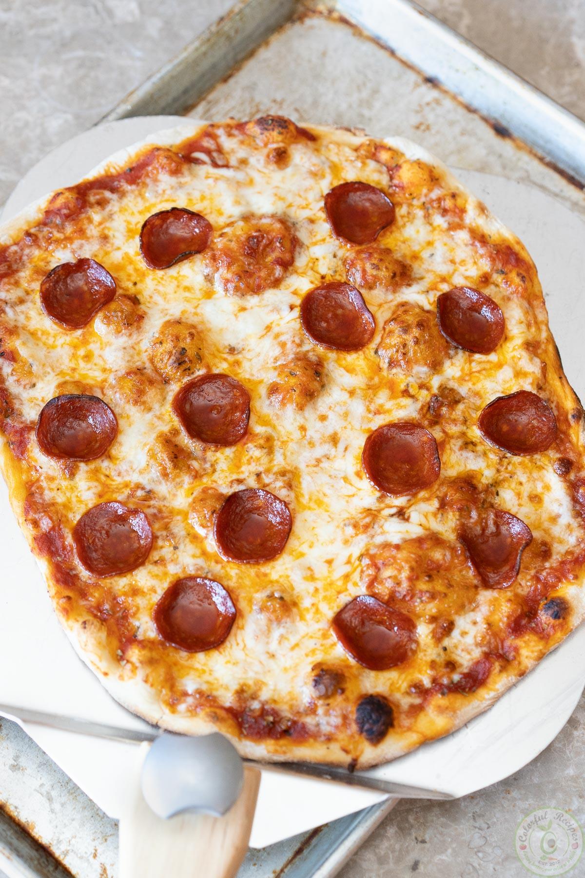 classic pepperoni pizza recipe