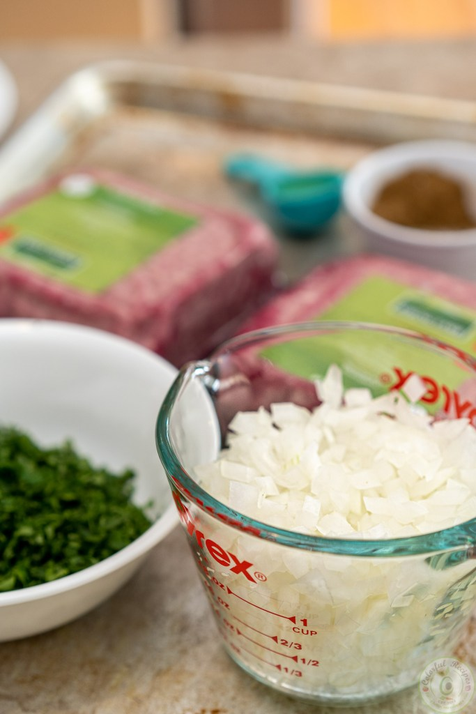 Grilled lamb kafta kabob recipe