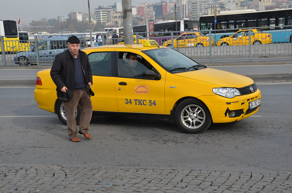 Taxi/Taksi Istanbul, Turkey