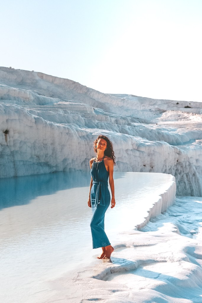 Handmade Maxi Dress at Pamukkale, Turkey Fashion Design