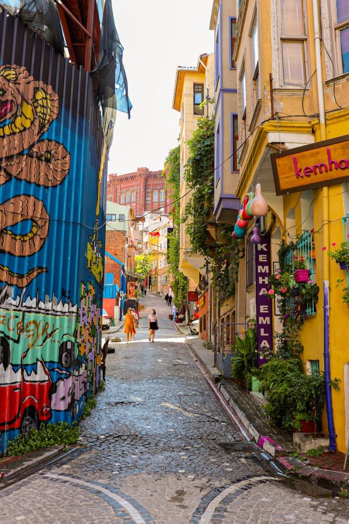 Balat Istanbul Colorful