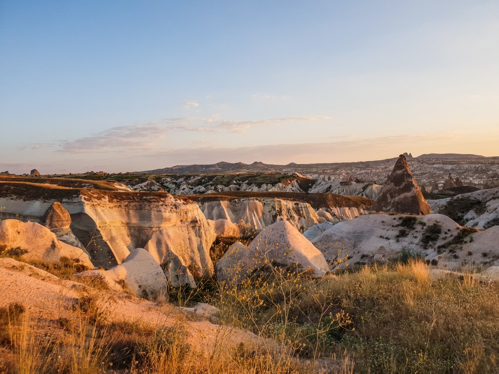 Rose Valley Red Valley Sunset Cappadocia