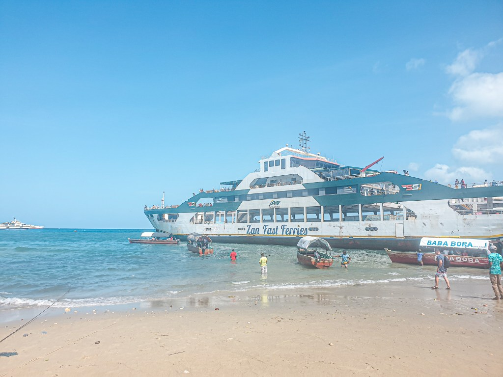 Zanzibar tanzania ferry