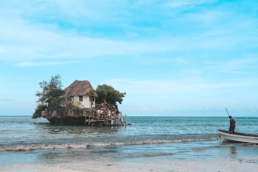 The Rock Restaurant Zanzibar Itinerary