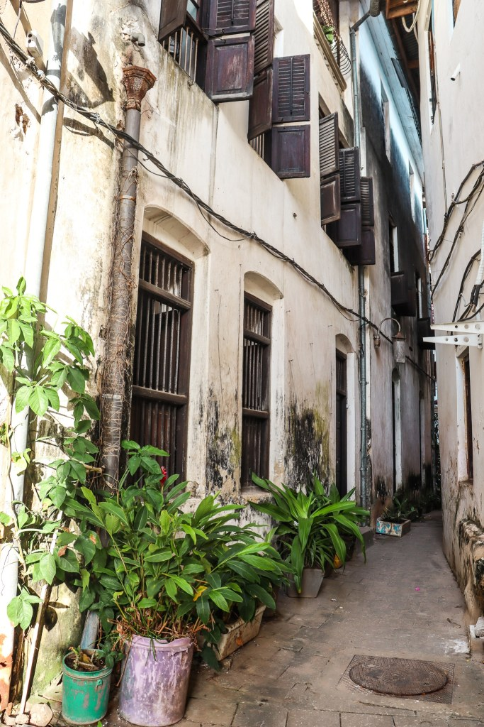 Stone Town Zanzibar narrow alleys