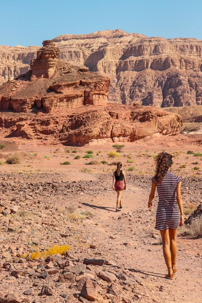 Timna Park Israel Desert Spiral Rock