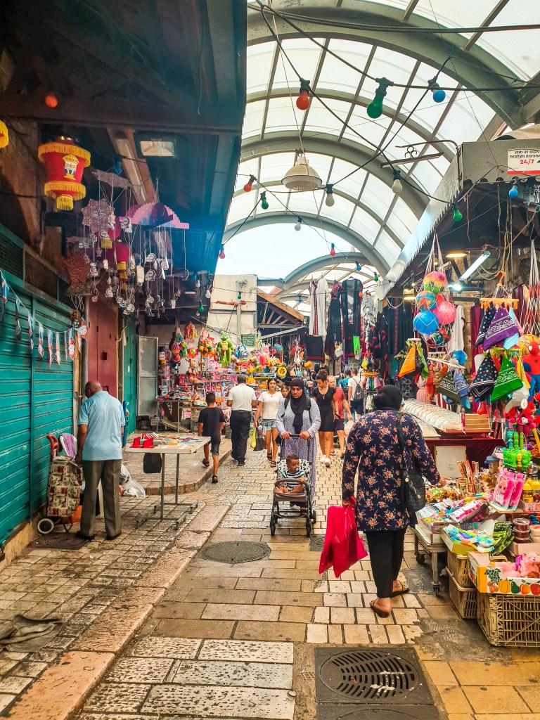 Akko Acre Israel market shuk