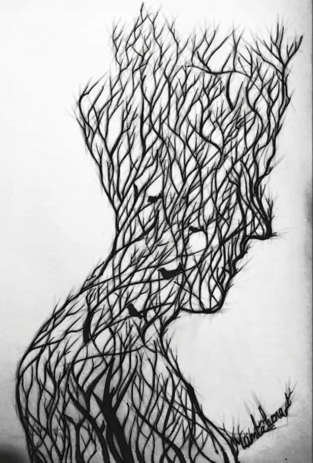 Artwork; মানব বৃক্ষ