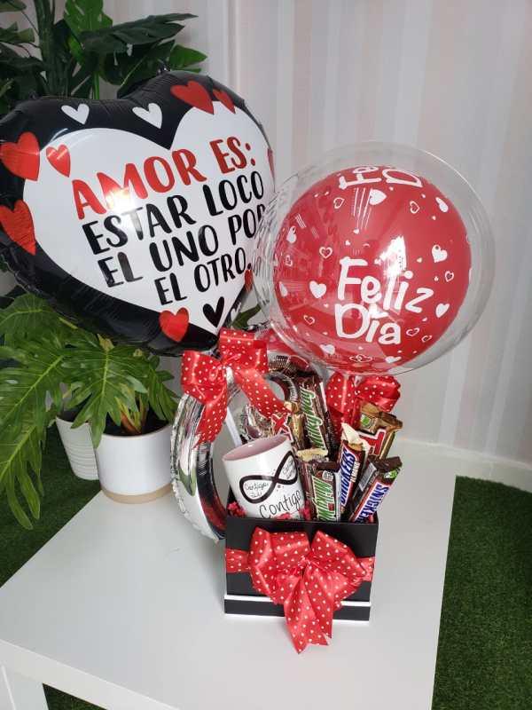 Arreglo Globos Amor
