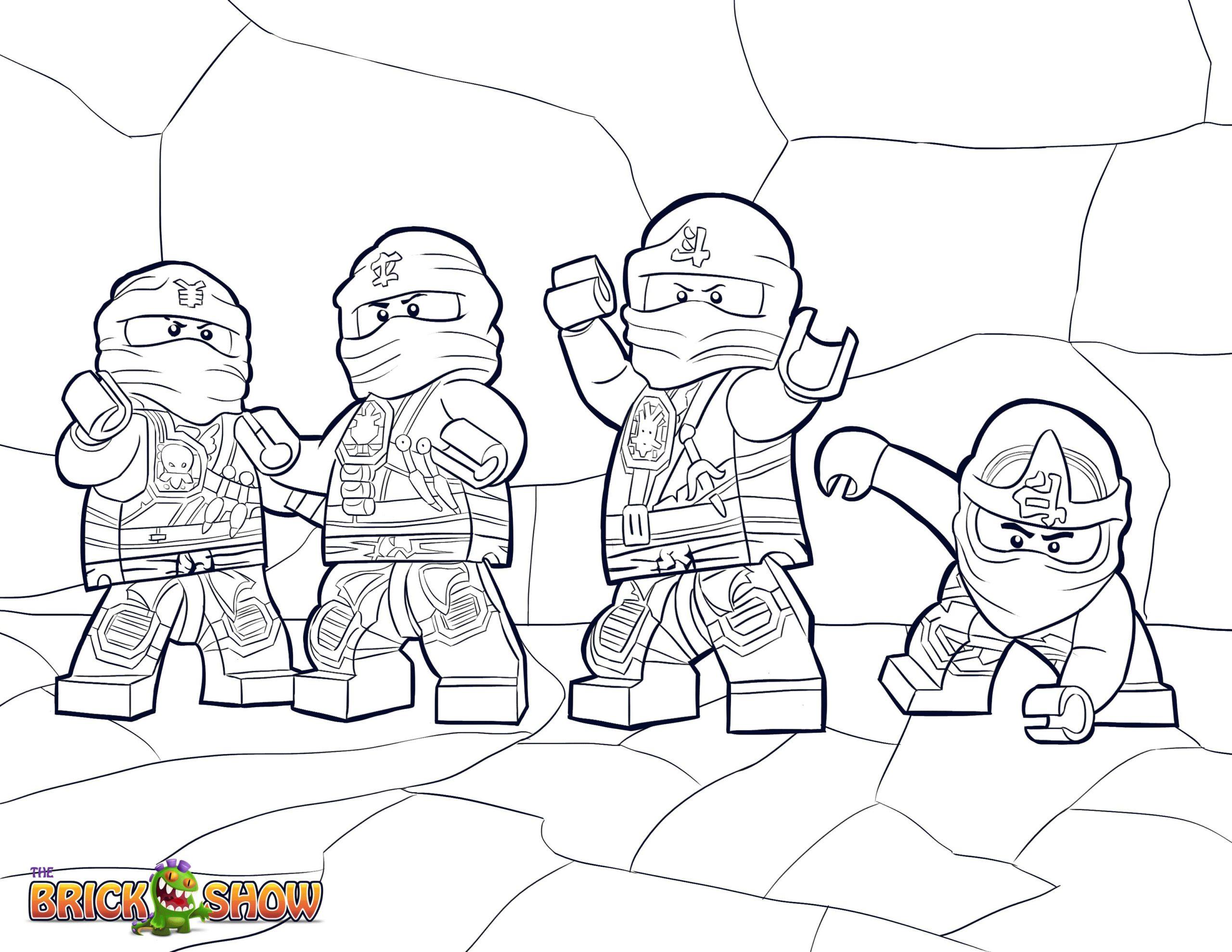 Coloriage Lego Ninjago A Imprimer Gratuit Coloriage Imprimer