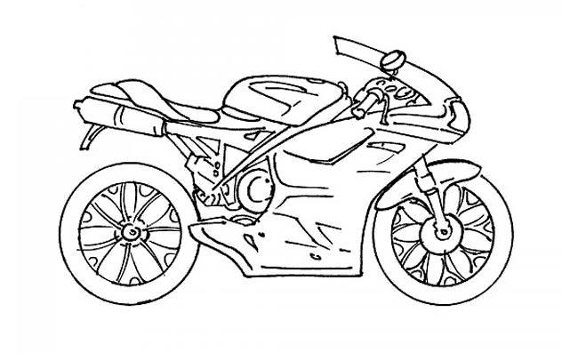 Coloriage Spiderman Moto à Imprimer - Coloriage Imprimer