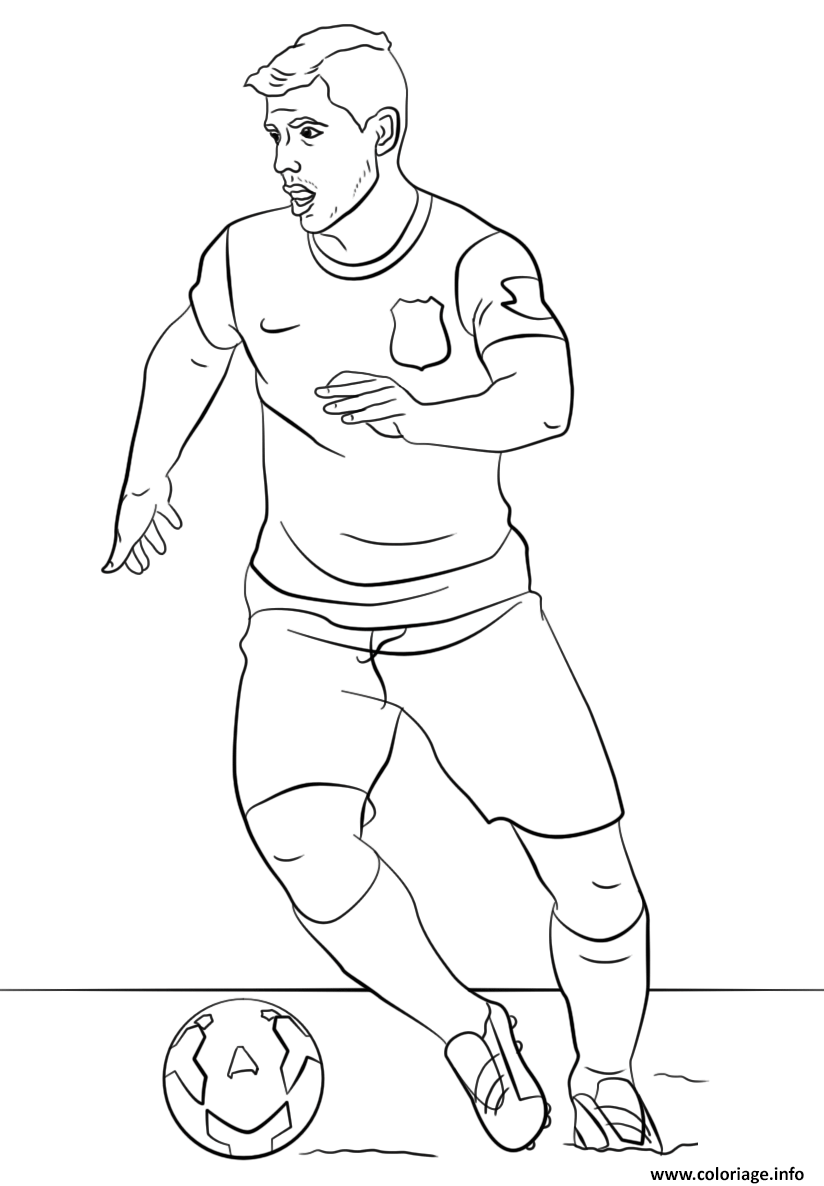 ronaldo easy coloring pages