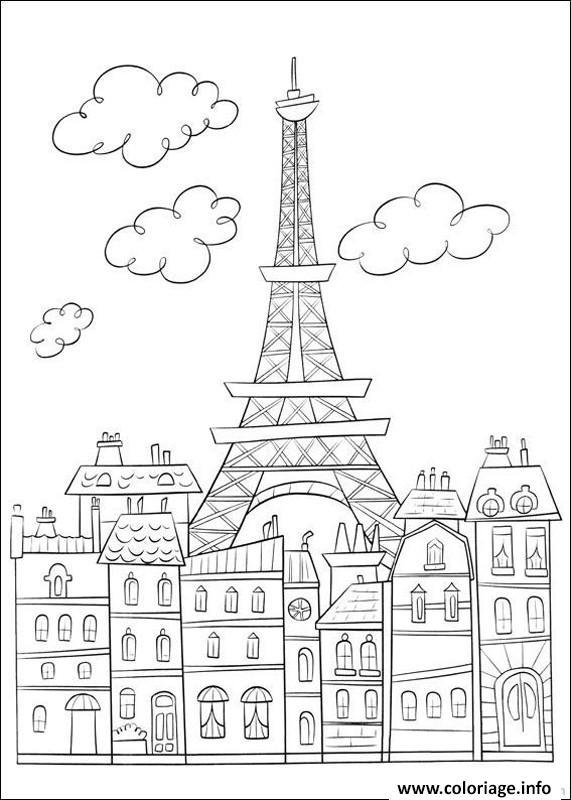 Coloring Page Croissant
