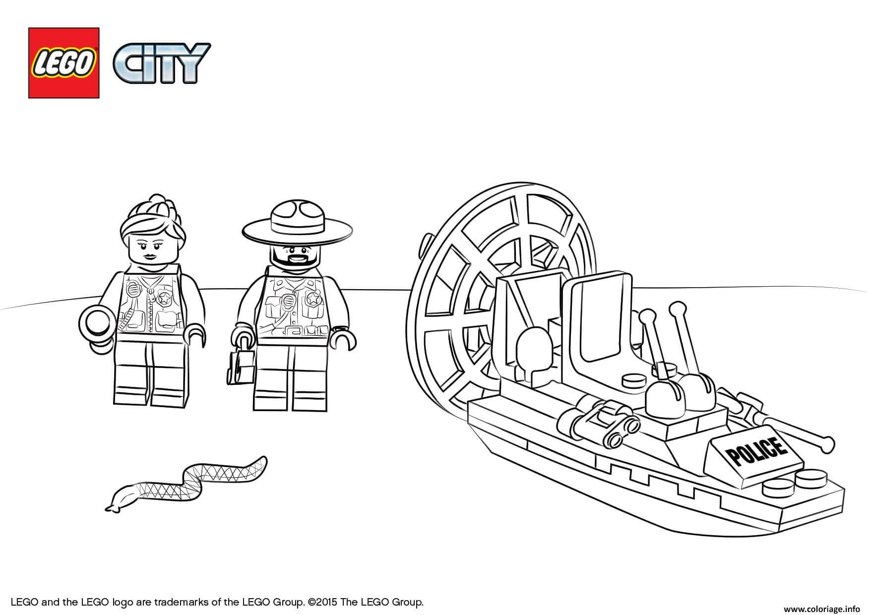 2/2/2018· best desenhos lego city para colorir free download for your kids. Coloriage Lego City Swamp Police Starter Set Dessin Lego