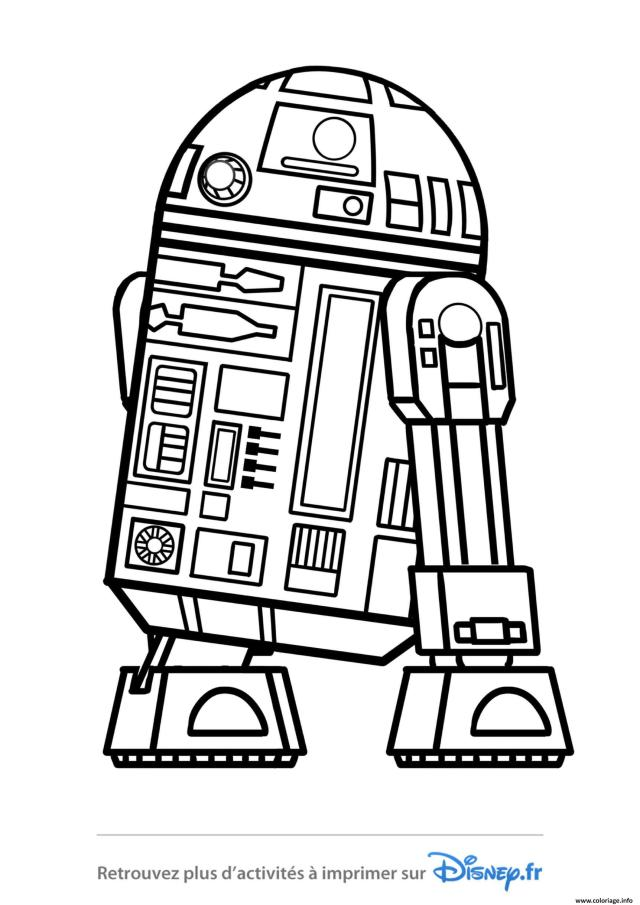 Coloriage Star Wars R244d244 Disney 244019 Dessin Star Wars à imprimer
