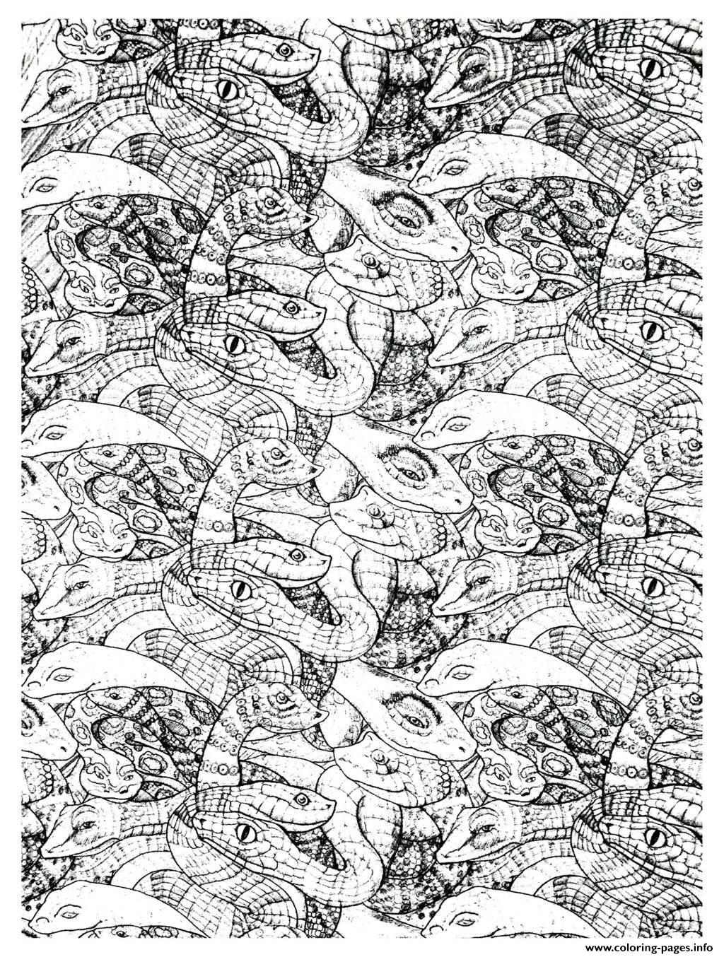 Complex Coloring Pages You Can Print